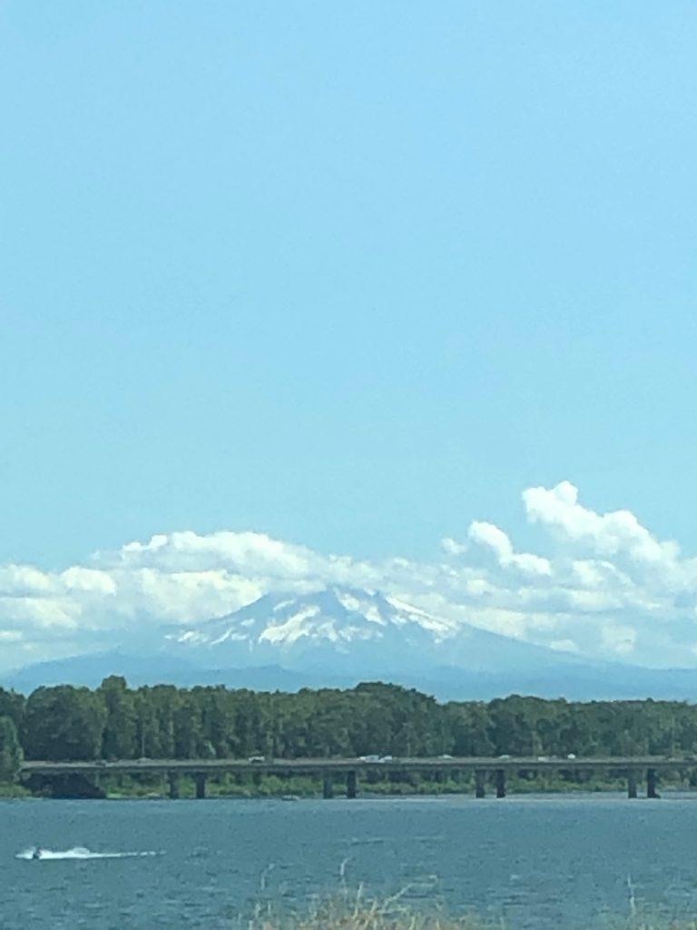 Mt. Hood as seen from Portland