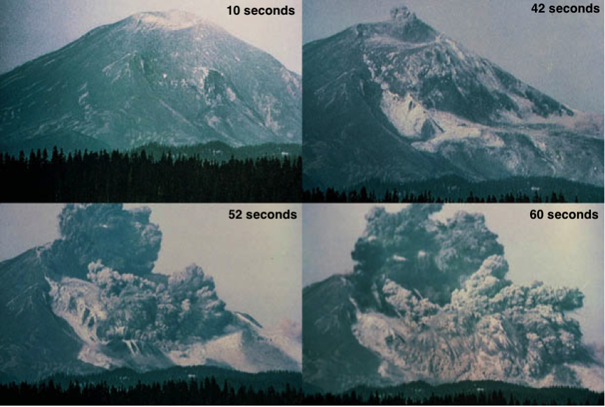Mt. St. Helens Eruption 1980