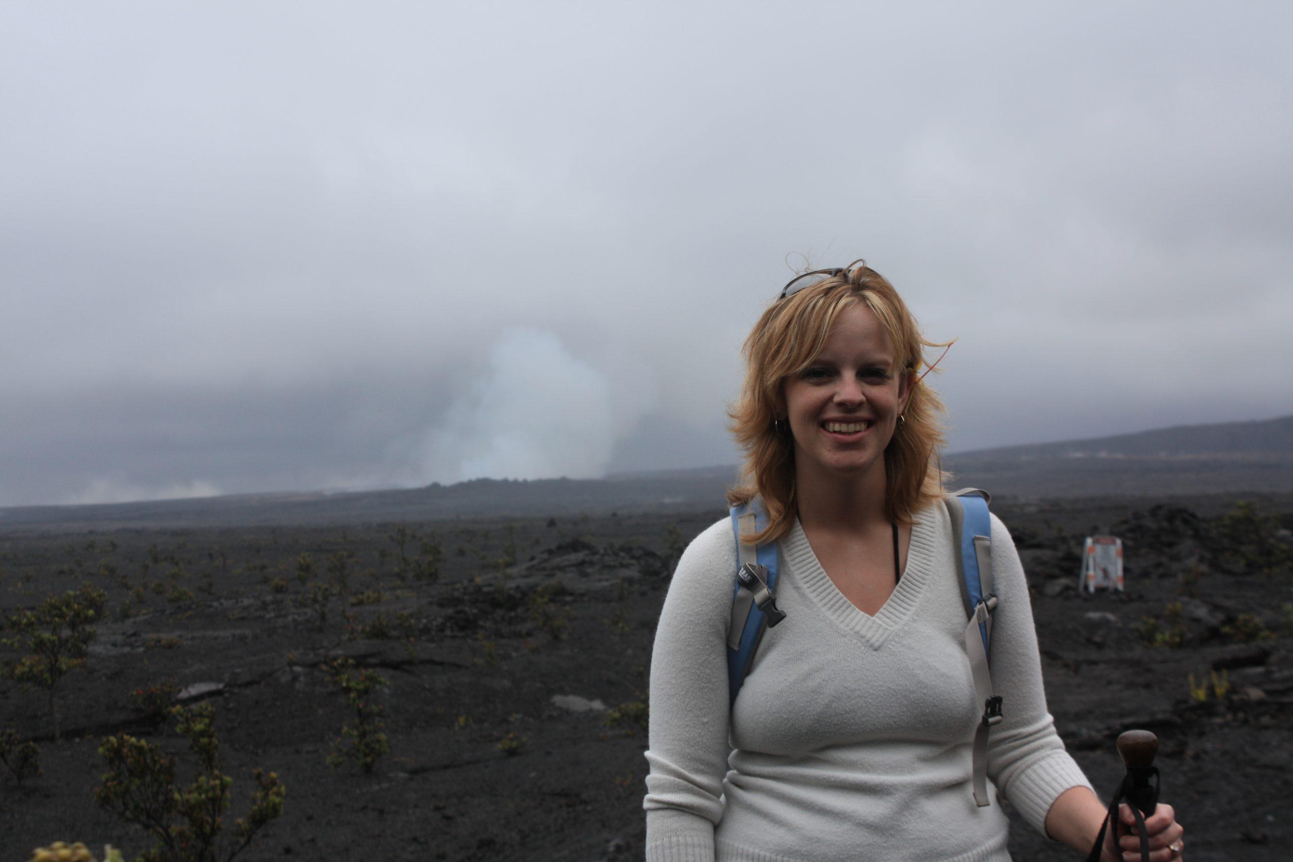 Volcano Hopper at Kilauea Summit