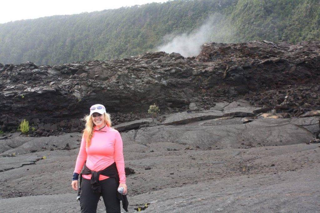 Volcano Hopper visiting Kilauea Volcano