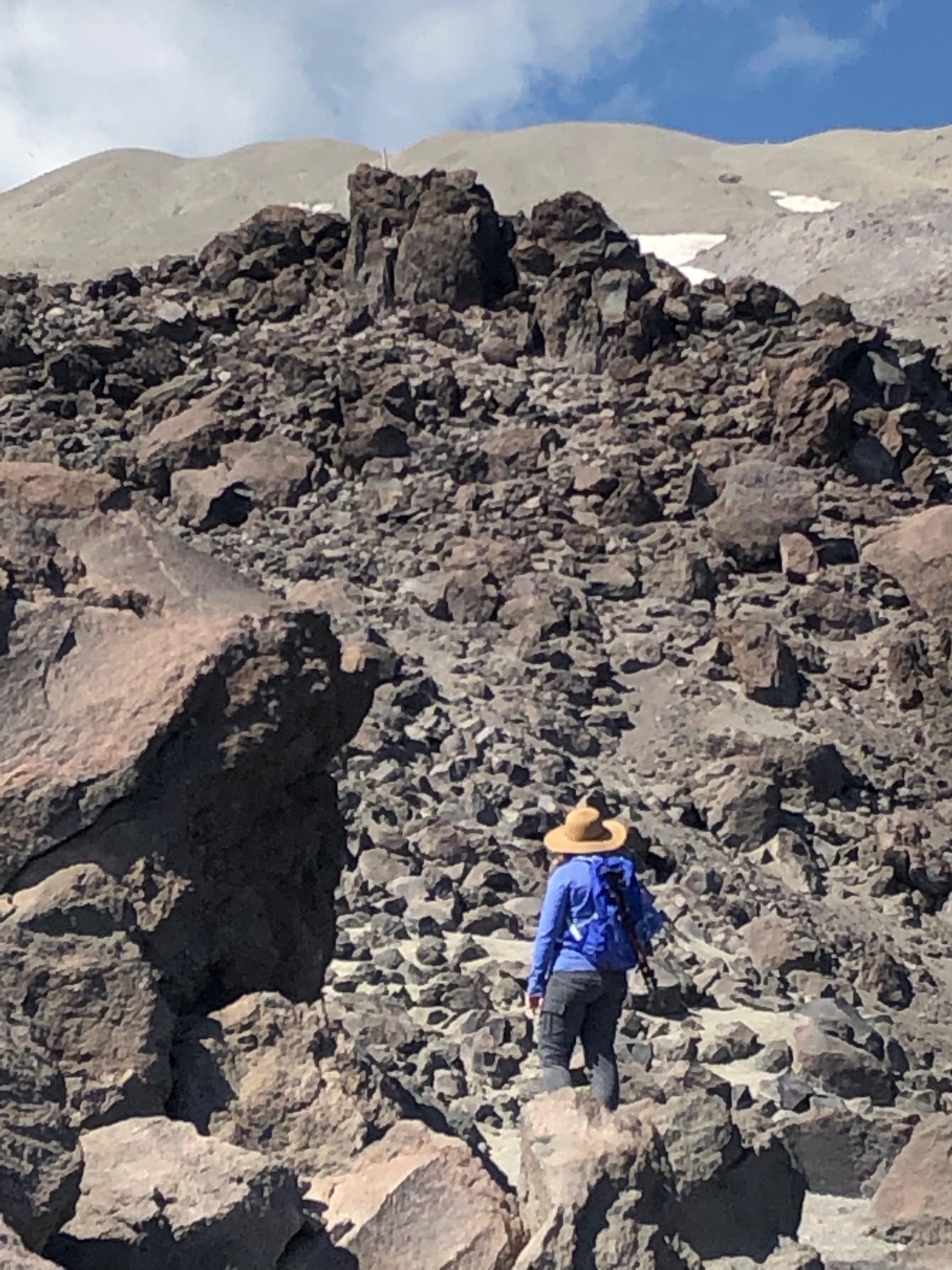 Climbing Mount St. Helens