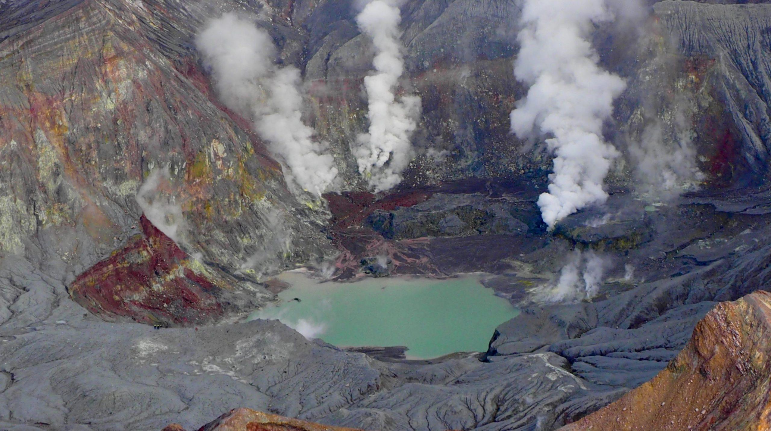 Whakaari volcano