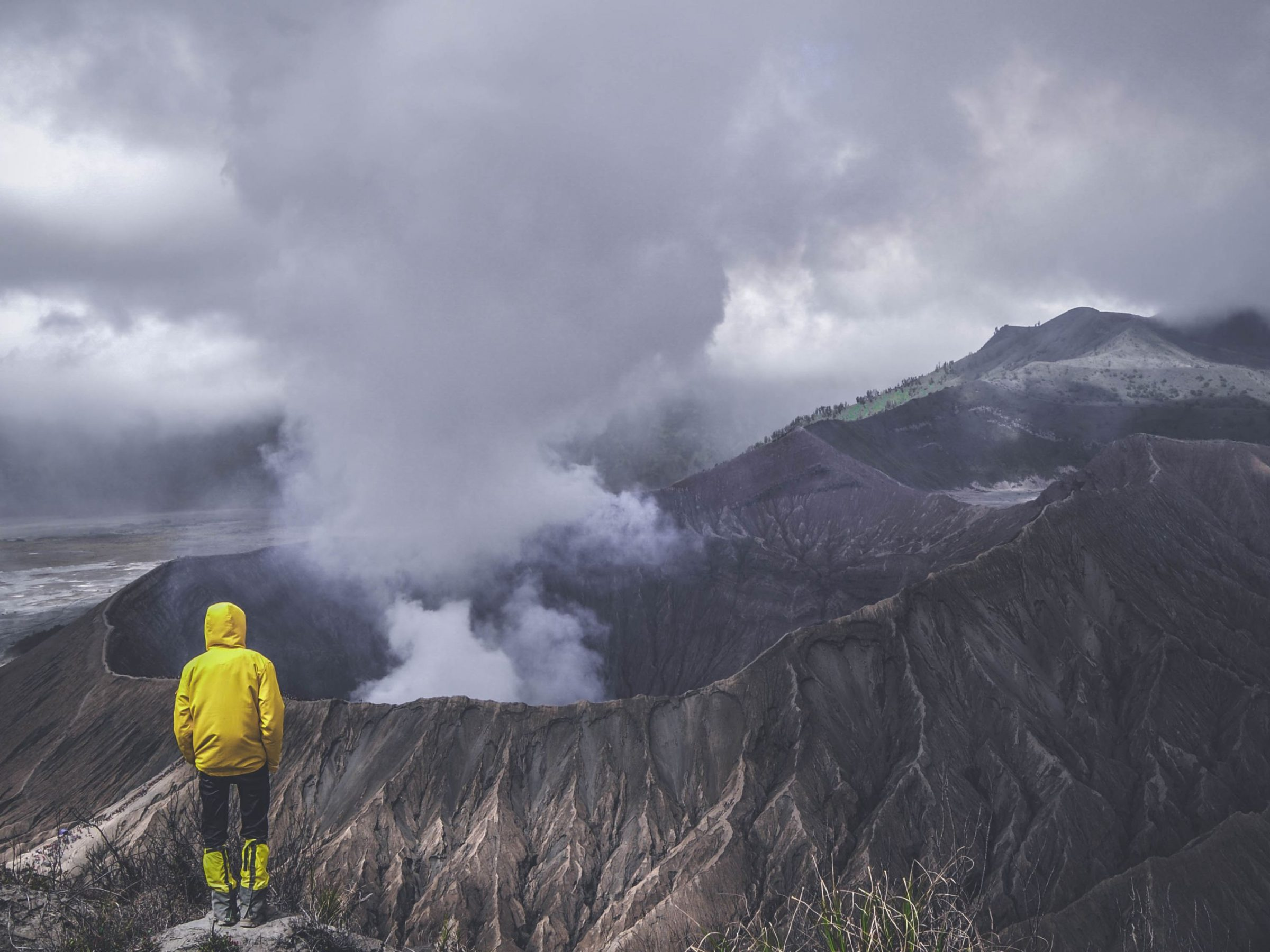 Keeping a safe distance from an active volcano