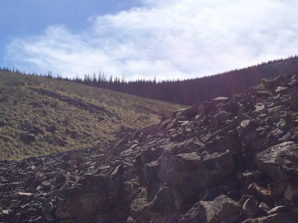 Basalt Lava Flow