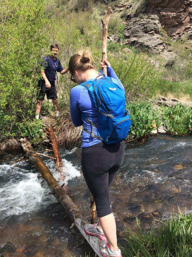 Crossing a river