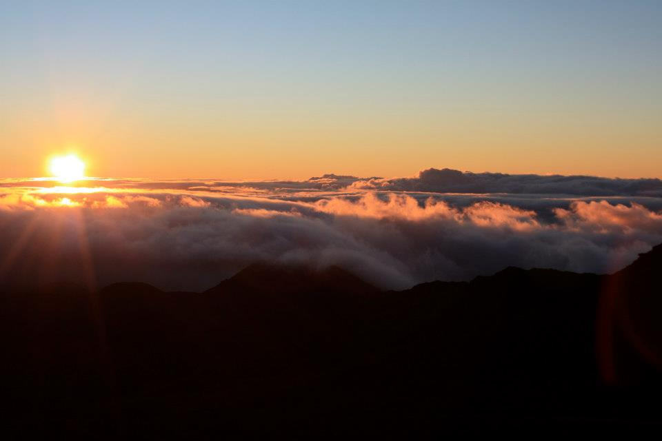 Sunrise from Haleakala's summit